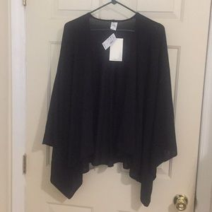 Cocoon wrap-shrug New with tags